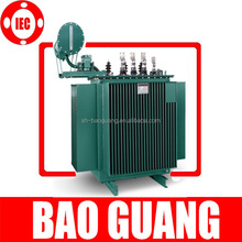 S9 type three phase Oil Immersed 2.5MVA power distribution transformer