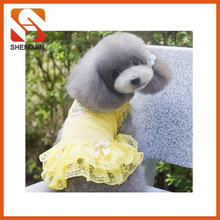 SJ-6648 2015 Dog Fashion Dresses Alibaba Dresses Wholesale Dog Clothes Pet Products