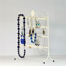 fancy jewelry necklace display stand hot-sale desk for jewelry display high quality