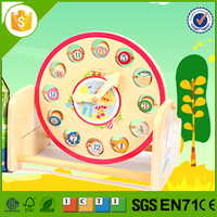 Hot selling wooden clock kits with great price