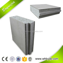 cement board wall light weight of particle board sandwich wall panel
