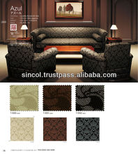 PVC leather for upholstery various colors made in Japan for modern sofa