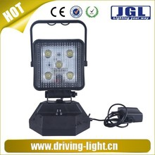 JGL 24V Rechargeable LED Flashlight Flood Lights 15W, Portable Led Light Working Time 4 Hours