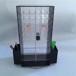 Wholesale Rotating Cosmetic Organzer Acrylic Makeup Organizer Case