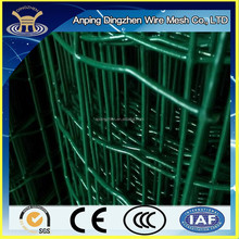 Low cost Green PVC coated border garden fencing mesh made in China