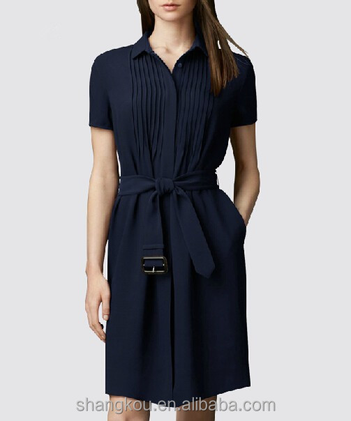 Customized button front dresses women button up shirt for Where to buy womens button up shirts