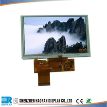 WQVGA 800x480 touch screen 5 inch tft lcd 800x480 with capacitive touch panel