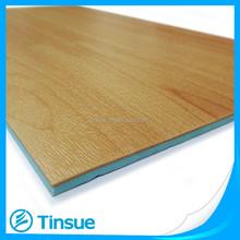 Wood like PVC sports floor for basketball court