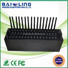 *Bulk sms 16 sim card multi-port modem pool wavecom Q24plus module 850/900/1800/1900 MHz