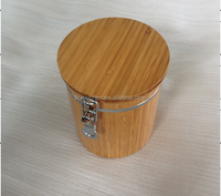 Bamboo Canister Wooden candy box