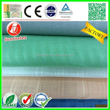 breathable High quality flax linen fabric factory