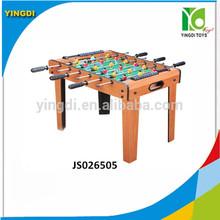 Mejor venta de madera de fútbol de mesa, madera mesa de fútbol de fútbol, footabll mesa de juego js026505