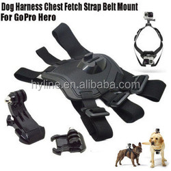 Alibaba Express New Products 2015 Innovative Products Dog Harness Chest for Go Pro Camera He ro 4 3+2 Hot New Products for 2015