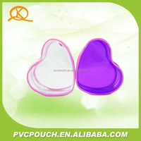 High quality clear pvc cosmetic travel pouch accept customize