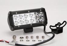 High intensity one row 36W led auto lamp off road car led light bar for trucks,CE /ROHS/E- MARK
