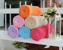 cheap coral fleece fabric throw wholesale