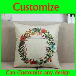 Handmade Christmas Decoration Polyester Santa Claus cushion Christmas Pillow