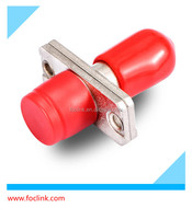 what is lc fiber, ST-FC fiber adapter simplex with red cap