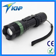 Mechanical Focus Strong Light Led Zoom Tactical Focusers Flashlight