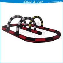 Electric toy race track type inflatable size 12*8m