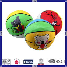 rubber basketball kids toys basketball as gift