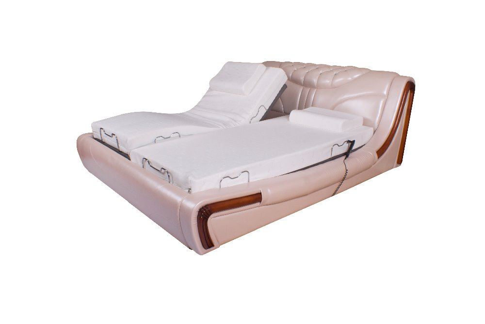 Double Adjustable Beds Electric : New design adjustable bed double twin electric
