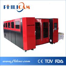 China 500w/1000w/2000w fiber laser cutting machine / cutting word
