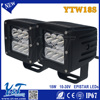 New 4x4 driving led work lighting 18w auto car head light Motorcycle Auxiliary Light