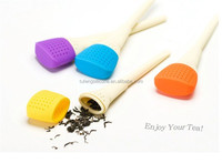 2015 hot sell art painting brush food grade silicone tea ball infuser