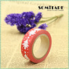 Hot selling colorful masking tape/decoration tape/adhesive tape for Christmas gift DIY SOMITAPE