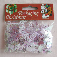 Artificial Shape White Color Paper Confetti with PP Bag and Colorful Headcard
