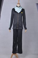 Fantasy Manga Anime Noragami Yato Yaboku Cosplay Costume adult men Sport Suit with scarf for halloween christmas cosplay disfraz