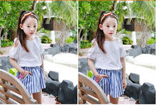Factory best sell sets smocked children clothing wholesale