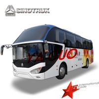 sinotruk long distance use new luxury buses for sale