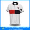High quality custom design white polo t shirt golf clothing