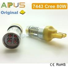 1000LM 80W All Cr.ee7440 7443 high lumen car led bulb