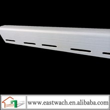J channel profile accessory for insulated wall panels pvc clapboard wall panel
