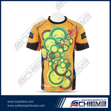 DIY school practice rugby jersey/shirt, youth team rugby uniforms