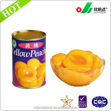 A10/6 Canned yellow Peach sliced
