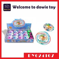 2015 hot sale product promotion item Funny fruit shape kids electronic spinning top with laser music