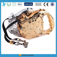 High quality new collection of 3 Meters electroplate shell Flexible retractable leash