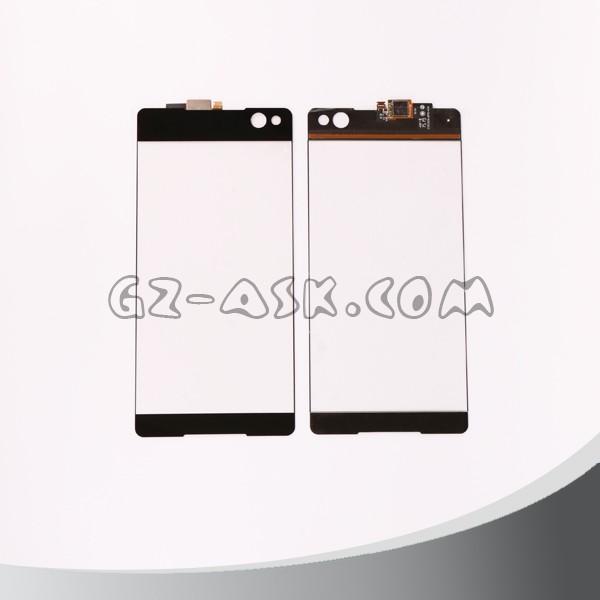 소니 엑스 페리아 c5 울트라 E5506 E5533 E5563 E5553 터치 스크린 디지타이저 유리 패널 예비 부품 블랙 온라인 쇼핑