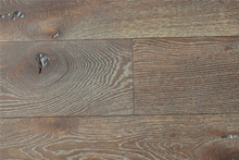 Commerical and Household CDE Grade Big Knots Antique Wire Brushed White Washed French Oak Flooring