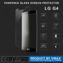 2015 OEM New products 9H .26 .33mm privacy/anti blue light mobile phone Tempered Glass Screen Protector for LG G4
