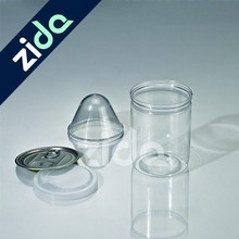 New arrival 500ml empty transparent PET plastic Bottle for canning food
