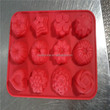 2014 Professional factory creative novelty Silicone cake maker/silicone muffin molds/silicone ice mold