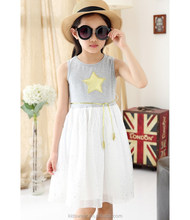 Top quality childrens clothing new 2015 kids clothes models casual dress for girls