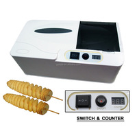 Electric potato twist machine
