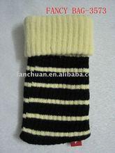 high quality crochet cell phone bag