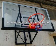 Basketball training Tempered glass basketball backboard made in china